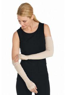 Coolibar---Beschermende-UV-mouwen-voor-volwassenen---Foraker---Beige