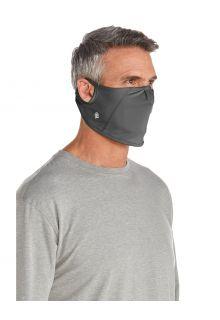 Coolibar---UV-werend-Masker-voor-volwassenen---Blackburn---Houtskoolgrijs