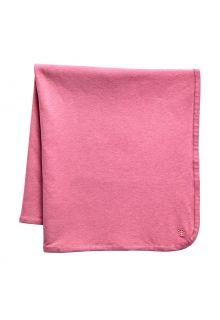 Coolibar---UV-werende-zonnedeken-voor-baby's---Batibou---Dahlia-Roze