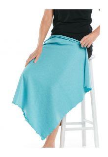 Coolibar---UV-werende-zonnedeken---Savannah---Oceaan-turquoise