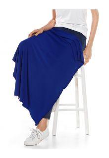 Coolibar---UV-werende-zonnedeken---Savannah---Saffierblauw