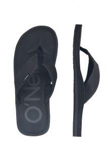 O'Neill---Slippers-voor-heren---Chad-Logo---Zwartgrijs
