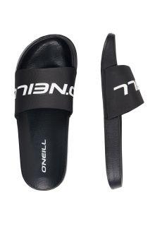 O'Neill---Slippers-voor-heren---Logo---Zwartgrijs