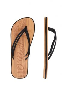 O'Neill---Slippers-voor-dames---Ditsy---Zwart-grijs