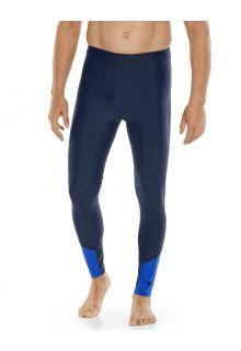 Coolibar---UV-werende-Zwemlegging-voor-heren---Point-Break---Navy