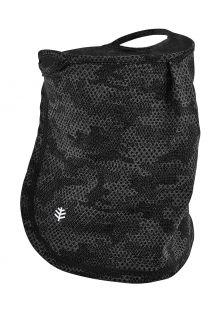 Coolibar---UV-werend-gezichtsmasker-voor-kinderen---Crestone---Houtskool