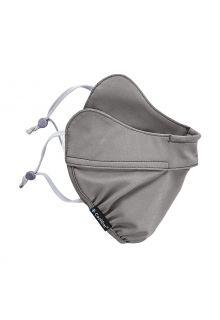 Coolibar---UV-werend-gezichtsmasker-voor-volwassenen---Zenith---Grijs