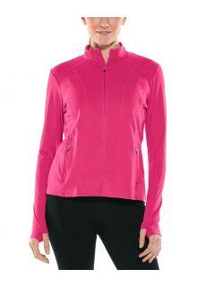 Coolibar---UV-Zwemjack-voor-dames---Malawi---Jazzy-Pink