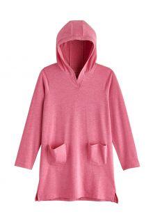 Coolibar---UV-Strandtuniek-voor-meisjes---Catalina---Dahlia-Roze