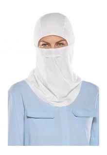 Coolibar---Uv-werend-Hengelsportmasker-voor-volwassenen---Abacos---Wit