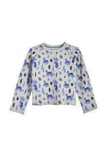 Coolibar---UV-Shirt-voor-baby's---Longsleeve---LumaLeo---Grijs