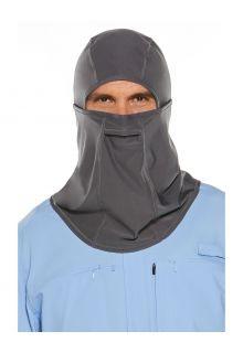 Coolibar---Uv-werend-Hengelsportmasker-voor-volwassenen---Abacos---Rookgrijs
