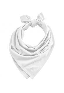 Coolibar---UV-werende-bandana-voor-volwassenen---Everyday-Beach---Wit