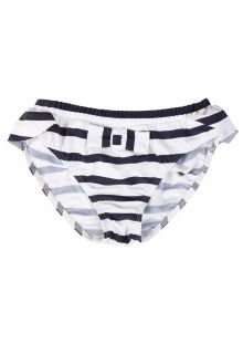 Petit-Crabe---UV-werend-bikinibroekje---Gestreept---Wit/Donkerblauw