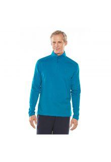 Coolibar---UV-shirt-voor-heren---blauw