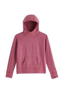 Coolibar---UV-werende-Hoodie-voor-kinderen---LumaLeo---Bessen