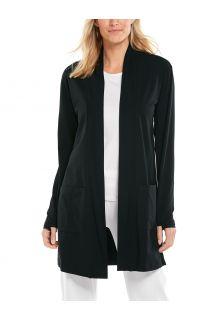 Coolibar---UV-werend-Vest-voor-dames---Corbella---Zwart
