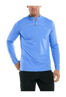 Coolibar---UV-Zwemjack-voor-mannen---Menorca---Surf-Blauw