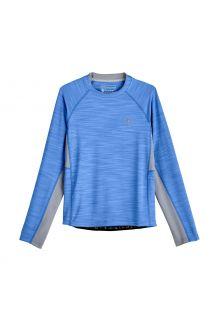Coolibar---UV-Zwemshirt-voor-jongens---Longsleeve---Ultimate-Rash---Surf-Blauw
