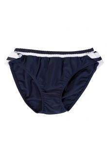 Petit-Crabe---UV-werend-bikinibroekje---Gestreept---Donkerblauw/Wit