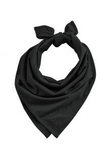 Coolibar---UV-werende-bandana-voor-volwassenen---Everyday-Beach---Zwart