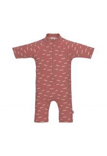 Lässig---UV-Zwempak-voor-baby's---Sunsuit-Golven---Rozenhout
