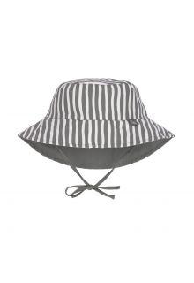Lässig---Omkeerbare-UV-Bucket-hoed-voor-baby's---Strepen---Olijf