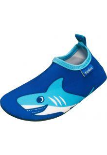 Playshoes---UV-waterschoenen-voor-jongens---Haai---Blauw