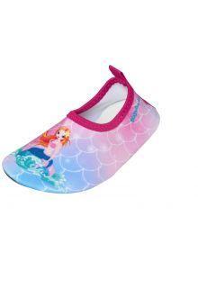 Playshoes---Uv-waterschoenen-voor-meisjes---Zeemeermin---Roze/Zeemeermin