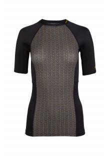 O'Neill---UV-Zwemshirt-voor-dames---Anglet---Zwart-AOP