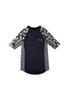 O'Neill---UV-Zwemshirt-voor-meisjes---Longsleeve---Print---Donkerblauw