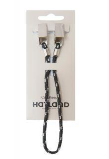 Hatland---Capkeeper-om-hoed-of-pet-aan-jas-of-shirt-te-bevestigen--Zwart/Wit