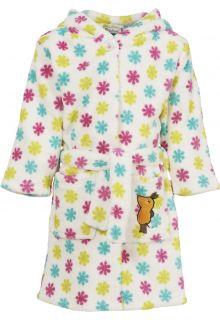 Playshoes---Fleece-badjas-met-capuchon---'de-muis'---bloemen