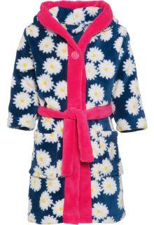 Playshoes---Fleecebadjas-voor-meisjes---Margriet---Navy-blauw-/-roze
