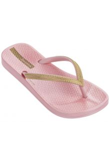 Ipanema---slippers-voor-meisjes---Mesh-Kids---roze-&-goud