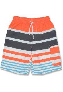 Snapper-Rock---UV-zwembroek---Oranje-strepen