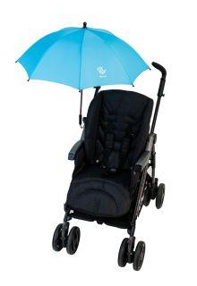 Altabebe---Universele-UV-parasol-voor-kinderwagens---Lichtblauw