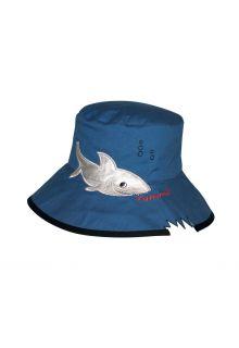 Rigon---UV-bucket-hoed-voor-kinderen---Blue-shark