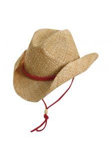 Dorfman-Pacific---Western-hoed-voor-kinderen---Rood