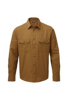 Craghoppers---UV-Overhemd-voor-heren---Longsleeve---Kiwi---Bruin