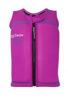 EasySwim---Drijfvest-met-uv-bescherming-voor-meisjes---Fun---Roze
