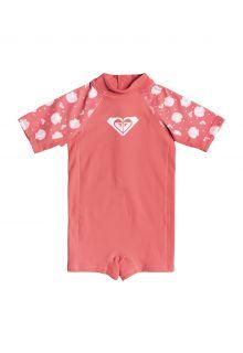 Roxy---UV-Zwempak-voor-jonge-meisjes---Springsuit-Shella---Desert-Rose-