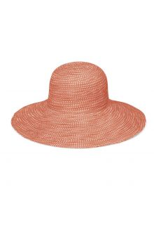 Emthunzini-Hats---UV-Floppy-zonnehoed-voor-dames---Scrunchie---Oranje