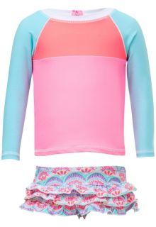 Snapper-Rock---UV-Zwemset-met-lange-mouwen---Tutti-Frutti---Roze/Blauw