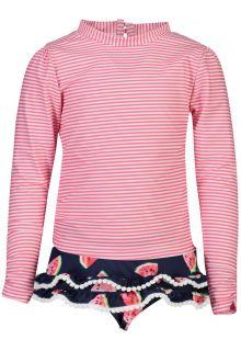 Snapper-Rock---UV-Zwemset-voor-meisjes---Slice-of-Life---Roze/Navyblauw