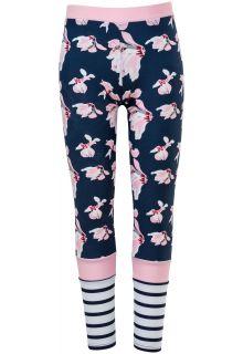 Snapper-Rock---UV-Zwem-leggings---Navy-Orchid---Roze/Donkerblauw