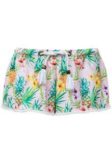 Snapper-Rock---Zwem-shorts-voor-meisjes---Tropicana---Roze