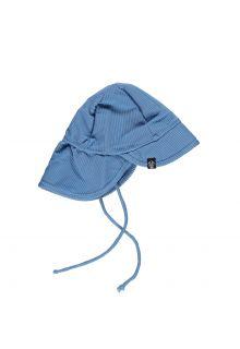 Beach-&-Bandits---UV-Zonnehoed-voor-kinderen---Ribbed---Rif-Blauw