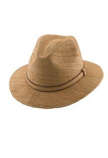 Scala---Safari-raffia-hoed-voor-heren---Kaki