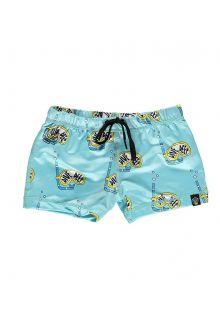 Beach-&-Bandits---UV-Zwemshorts-voor-kinderen---Dive-Deep---Blauw